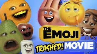 Annoying Orange - Emoji Movie TRAILER TRASHED!!