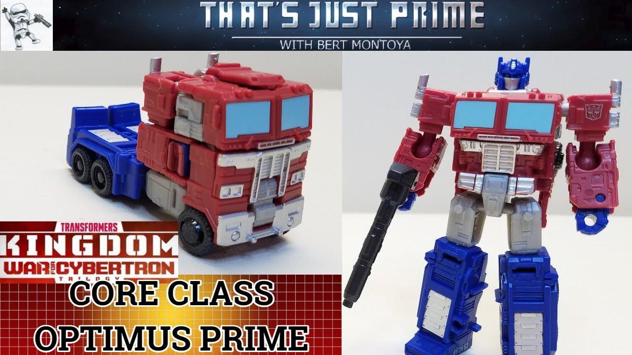 Transformers Kingdom OPTIMUS PRIME Review!