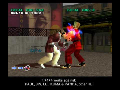 Tekken 3 Heihachi Secret Moves Rare Custom Combos Youtube