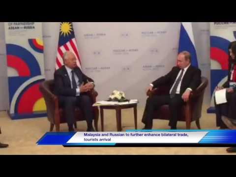 Malaysia, Russia To Further Enhance Bilateral Trade, Tourist Arrivals bit.ly/1WF81Ke