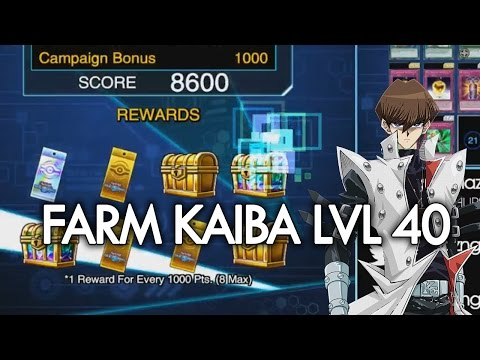 [Yu-Gi-Oh! Duel Links] How to Farm Level 40 Kaiba 7000-8000 | Full Farming Session