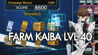 [Yu-Gi-Oh! Duel Links] How to Farm Level 40 Kaiba 7000-8000 | Full Farming Session