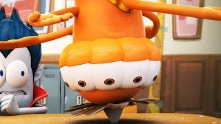 Funny Animated Cartoon | Spookiz | Spinning Top | 스푸키즈 | Kids Cartoons | Videos for Kids