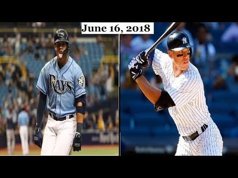 Tampa Bay Rays vs New York Yankees Highlights || June 16, 2018