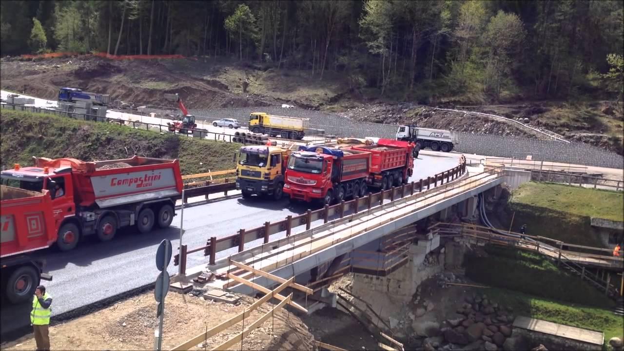Prove di carico su ponte con sistema inclinometrico for Foto di ponti su case