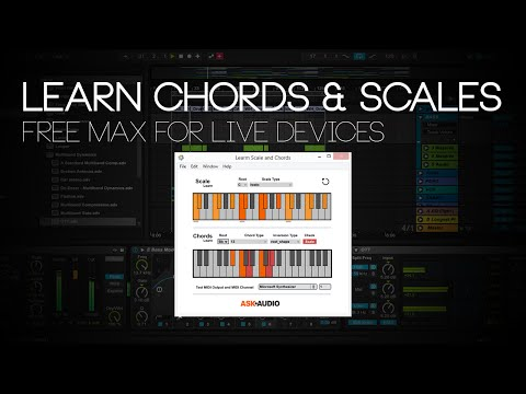 Max for Live Devices: Learn Chords & Scales [Free]