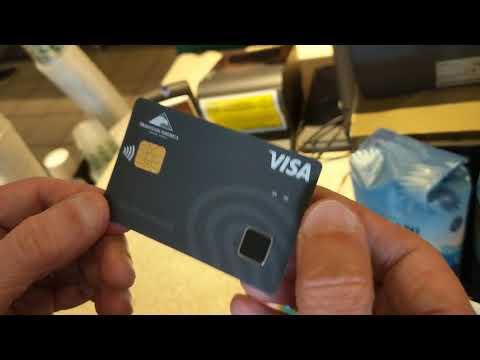 VISA Biometric Payment card demo