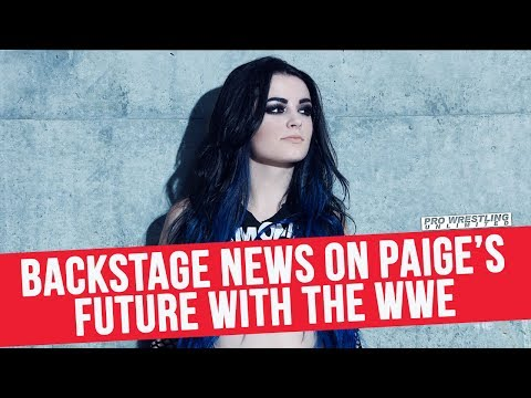 Backstage News On Paige's Future With The WWE & Why They Won't Just Release Her