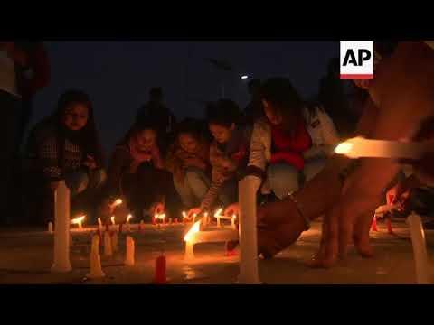 Relatives gather at hospital after Kathmandu plane crash