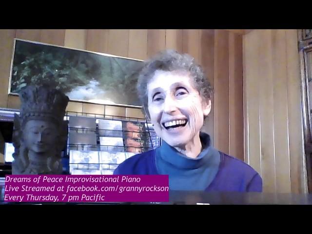 Dreams of Peace Improvisational Piano, Beth Green, May 23, 2019