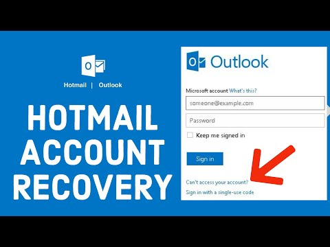Hotmail Account Recovery 2021: How to Reset/Retrieve Forgotten Hotmail Password?