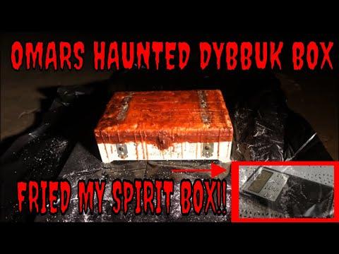 HAUNTED DYBBUK BOX **FRIED MY SPIRIT BOX**!!!