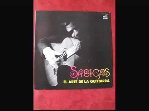 """SABICAS  """"EL ARTE DE LA GUITTARRA""""  / LP/VICTOR JAPON 1973  STEREO"""