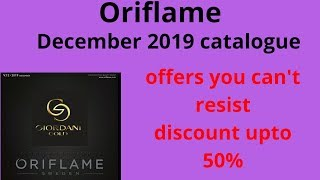 Oriflame December 2019 catalogue   oriflame catalogue December 2019   oriflame catalog