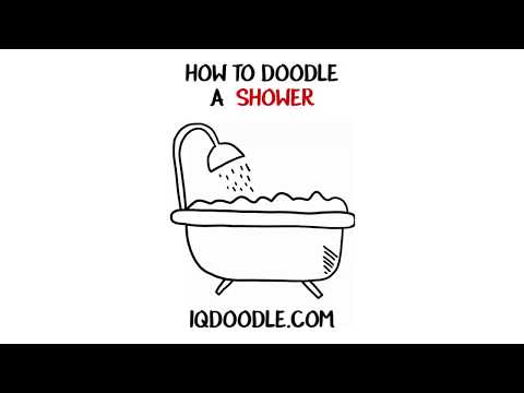 How to Draw a Shower and Bathtub (drawing tips)