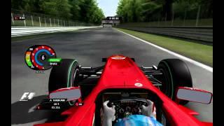 rFactor F1RFT 2010   Fernando Alonso Onboard Lap Monza