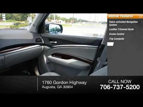 Acura Of Augusta >> 2016 Acura Mdx Augusta Ga P5187 Youtube