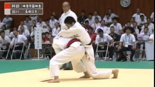 【男子66kg級決勝】平成26年度全国高校総体(インターハイ)|柔道チャンネル