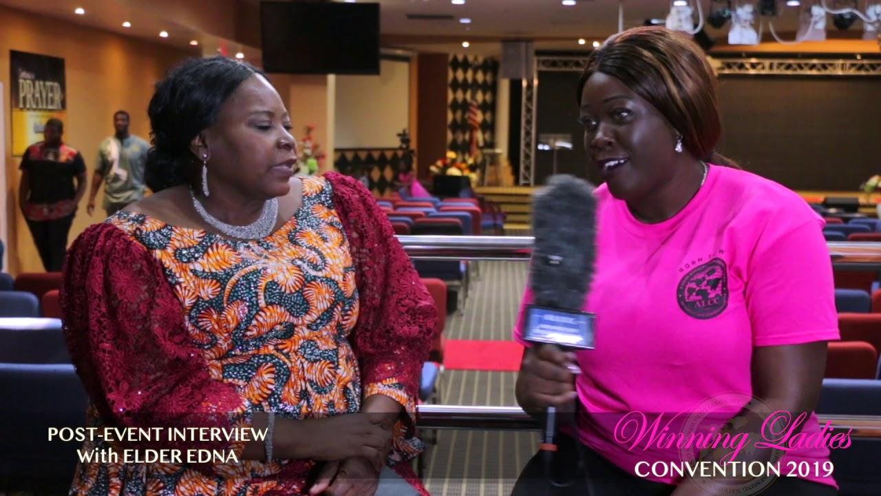 WLC2019 POST EVENT INTERVIEW WITH ELDER EDNA