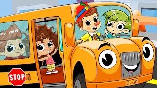 LAS RUEDAS DEL AUTOBÚS, canciones infantiles thumbnail