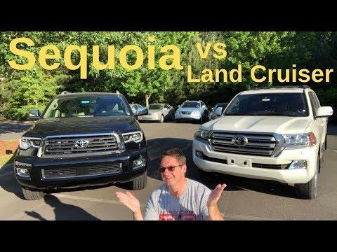 Ultimate Battle: 2019 Land Cruiser Vs Sequoia. Who Wins?