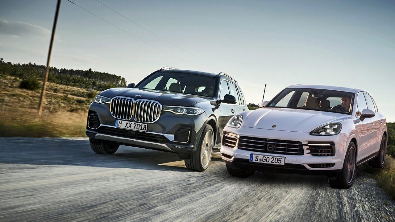 2019 BMW X7 vs 2019 Porsche Cayenne