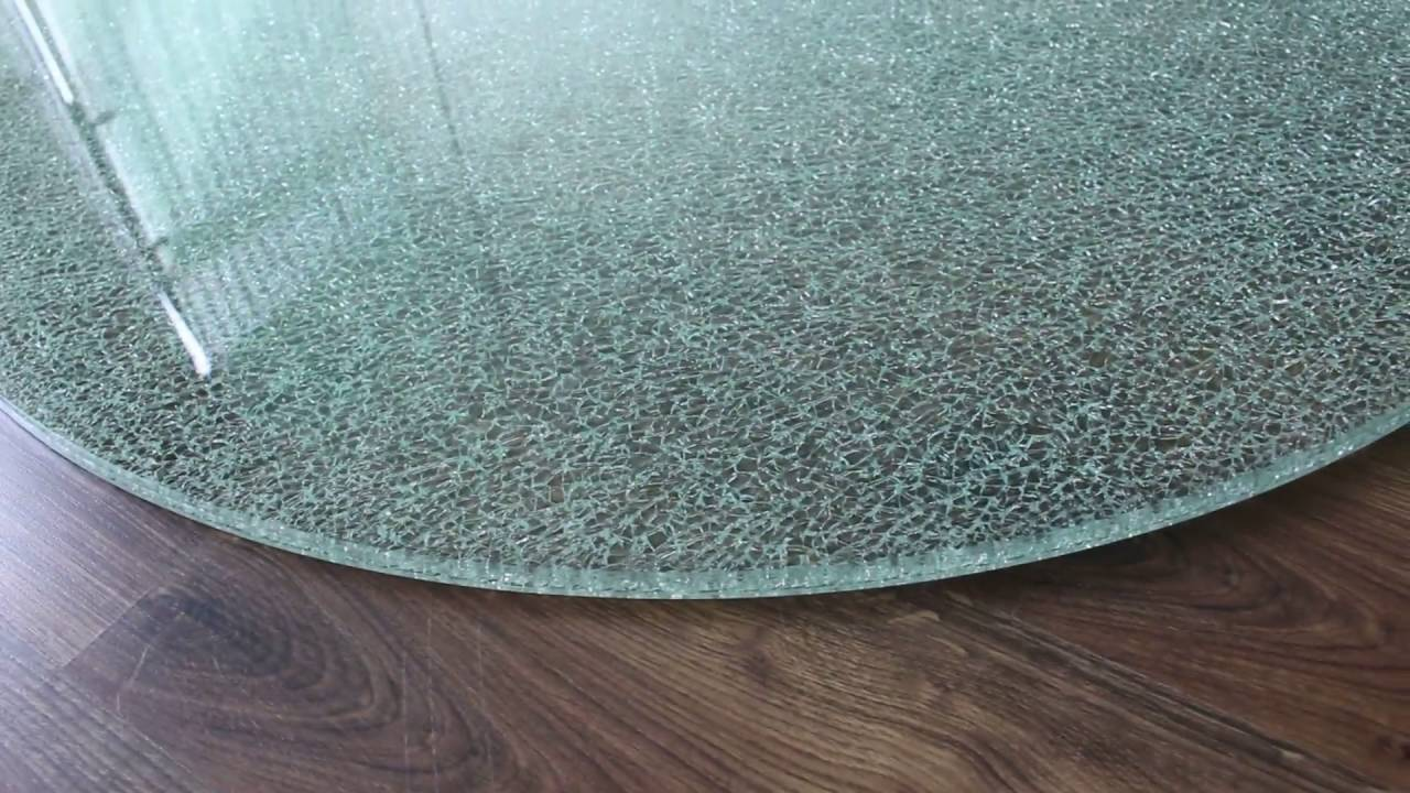 Extrem Kaminplatte Glasplatte Crashed Ofenplatte Kaminofen - YouTube YZ28