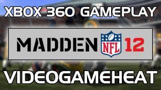 Madden 12 Xbox 360 Gameplay - Green Bay Packers vs. Chicago Bears
