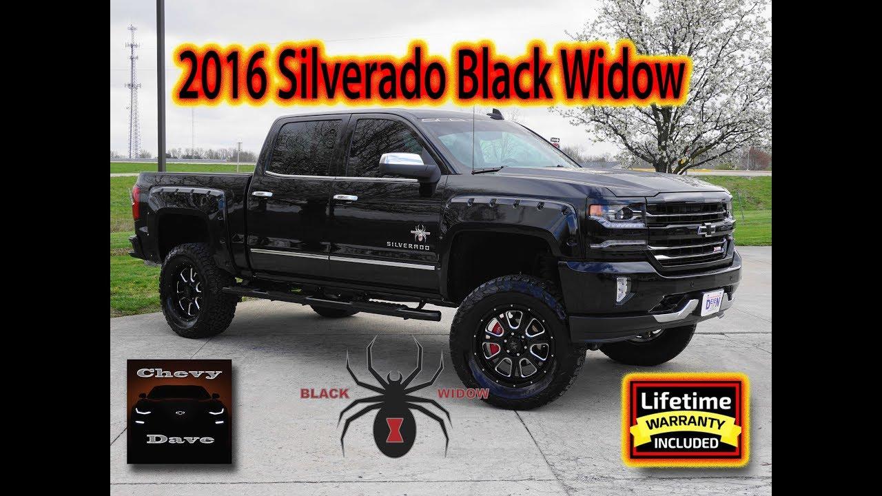 2016 Silverado Black Widow Special Edition Review Sold Youtube