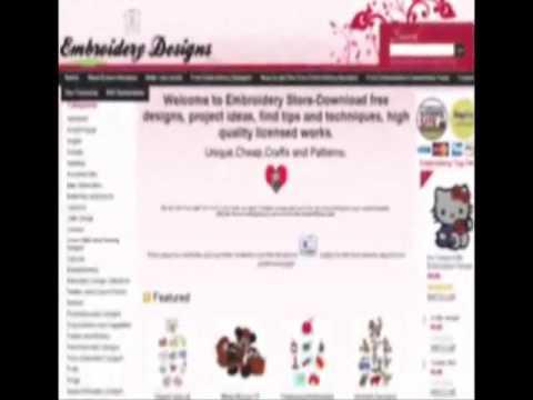 American creative machine embroidery magazine - YouTube