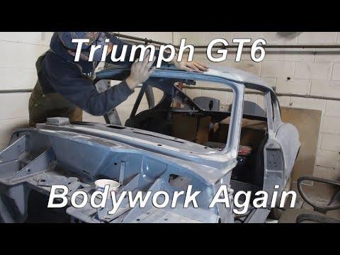 1972 Triumph GT6  Restoration  Part 63  Bodywork Again