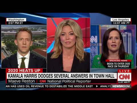 Kamala Harris Dodges Questions at CNN Town Hall