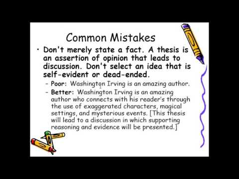 thesis statement literary analysis essay  youtube thesis statement literary analysis essay