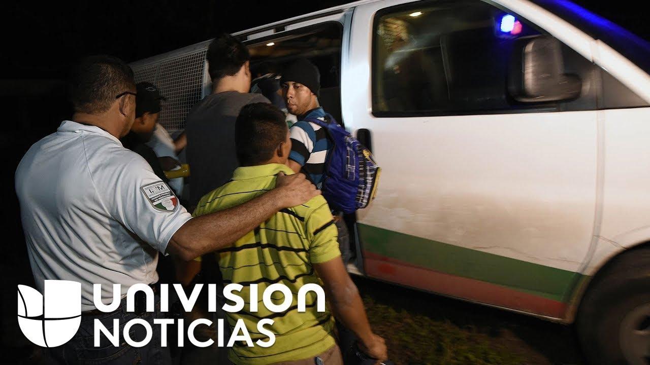 El llamado 'muro de México': zona donde autoridades de ese país detienen migrantes de Centroamérica