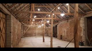 Dyrkowo: stodoła weselna - przygotowania