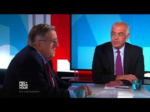 Shields and Brooks on Hurricane Harvey unity, climate change politics