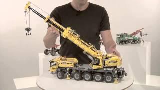LEGO Technic Новинки 2013 Лего техник: Передвижной Кран, Машина Техобслуживания, Монстрогрузовик(, 2013-08-14T08:28:01.000Z)