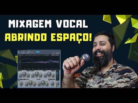 Liberando Espaço na Mixagem para o Vocal [Desembolar Voz]