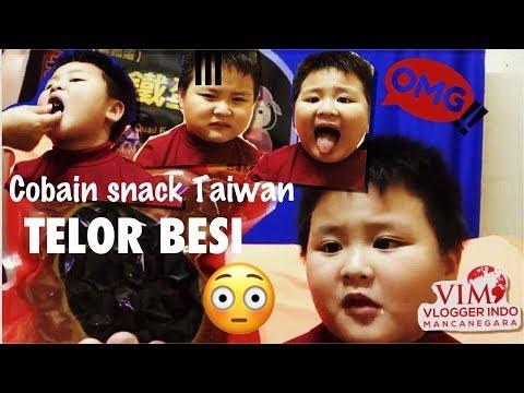 VIM COLLAB 8# POPULAR SNACK KHAS TAIWAN# TELUR BESI 😬