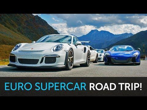 Supercar Road Trip - GT3RS, 650S, AMG GTS, GT3 & LOTUS!