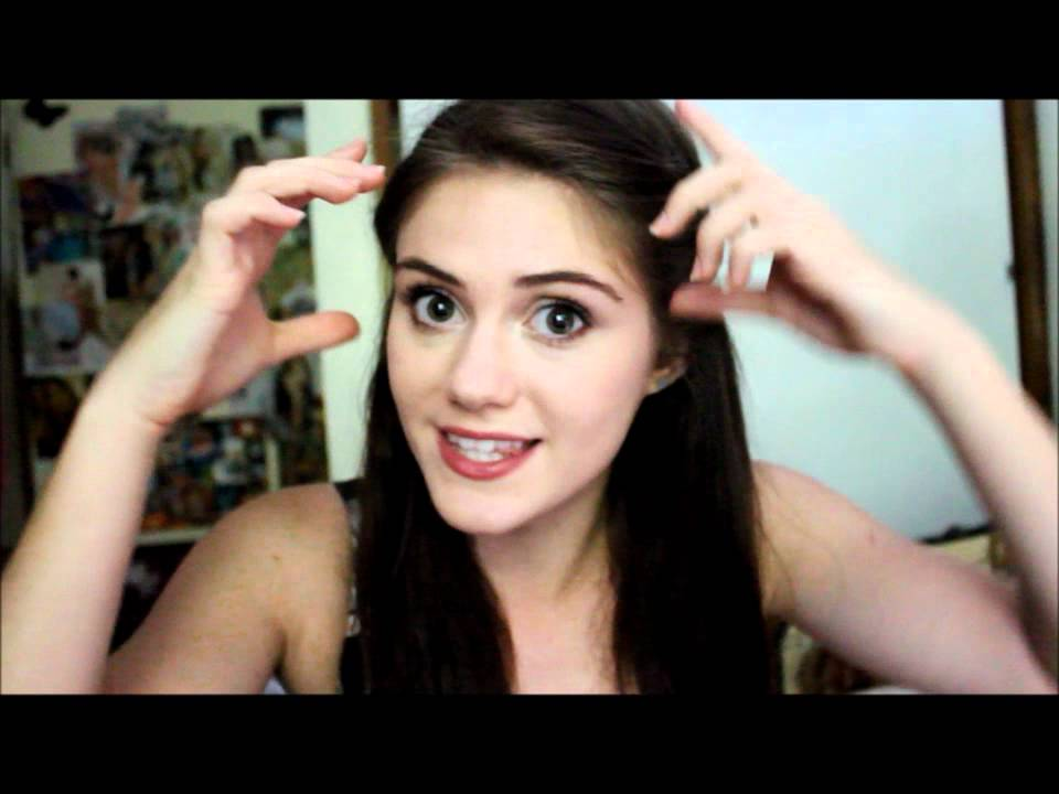 Casual Movie Date Hairstyle - YouTube