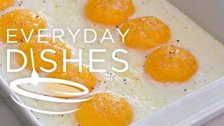 Super Easy Baked Eggs