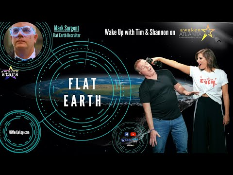 Flat Earth Clues interview 270 Awaken Atlanta interview at 44 minutes ✅ thumbnail