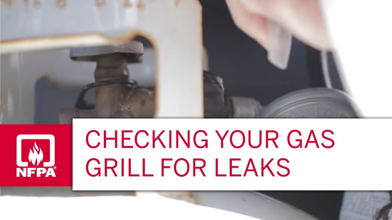 Nexgrill Gasgrill Test : A simple test for checking gas grill leaks youtube