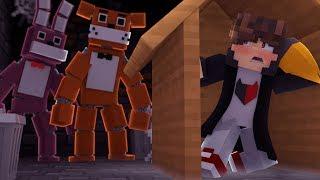 Minecraft: DESAFIO DA BASE 100% SEGURA CONTRA ANIMATRONICS FIVE NIGHTS AT FREDDY'S  ‹ JUAUM ›