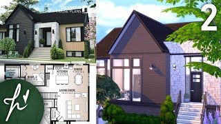 REAL TO SIMS - Part 2 - MODERN HOUSE // The Sims 4 Build