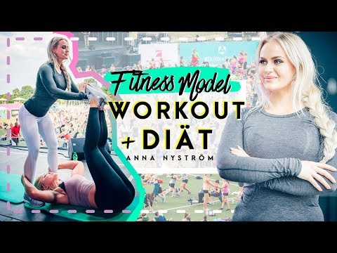 FITNESS MODEL DIÄT + TRAINING Tipps mit Anna Nystrom | WFD Partner Workout 2018