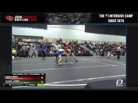 High School (11th - 12th Grade) 120 Chase Liardi Massapequa High School Wrestli Vs Jaden Bird Ring