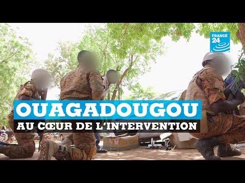 Ouagadougou : la fusillade filmée du côté des forces de l'ordre