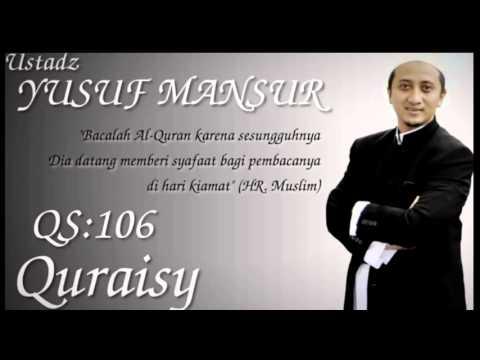 Ust Yusuf Mansur Murotal Qs 106